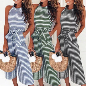 Nantucket Shores Jumpsuit (Available in Granite Only)