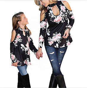 Mommy & Me Cut Out Tops