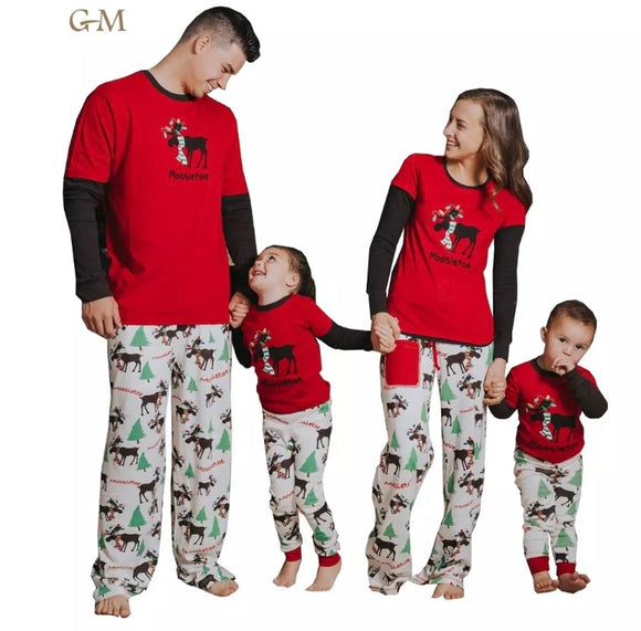 OCTOBER 20th PRESALE: Mischievous Moose Family Christmas Pajamas
