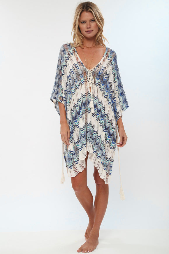 Waves of Color Knit Cover-Up (Two styles)