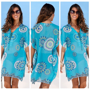 Kaleidoscope Cover-Up (Up to 2XL!)