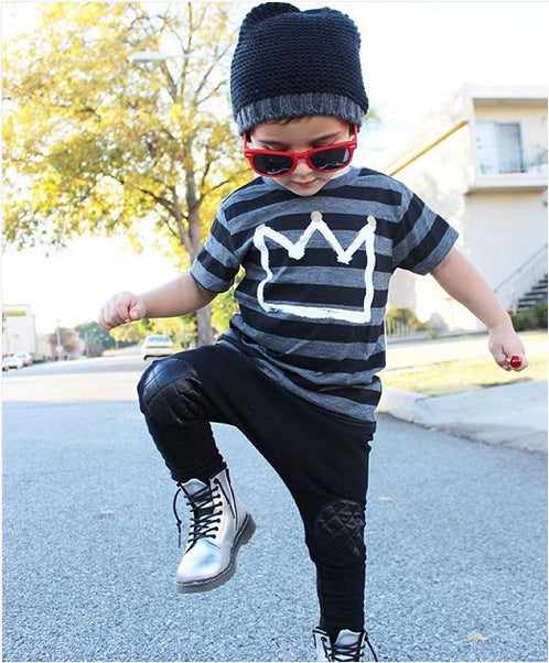 Little King Jogger Set