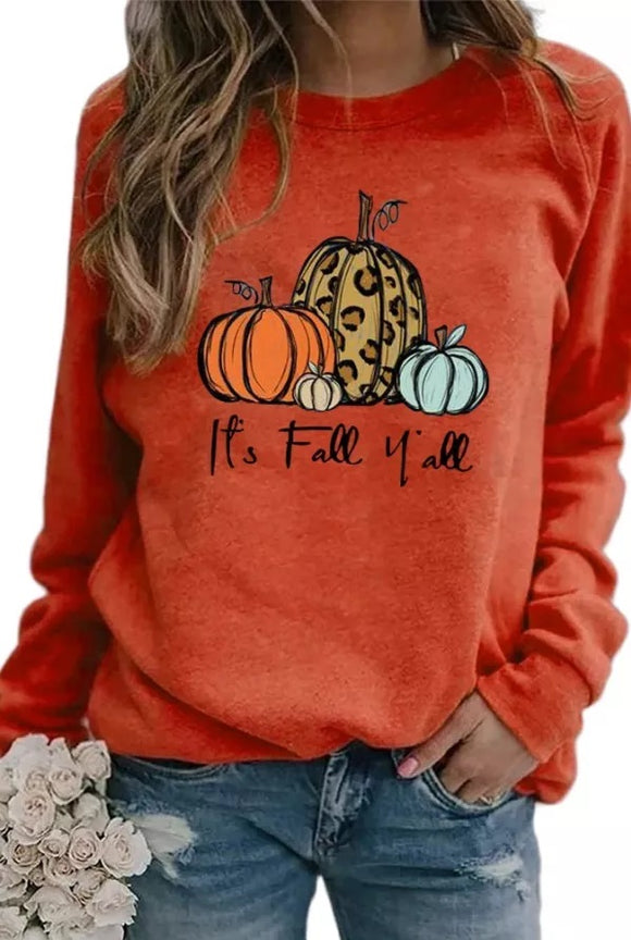 It's Fall Ya'll Pullover Pre-Sale (3 colors)