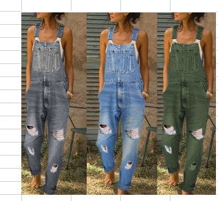 Baggy Weathered Overall