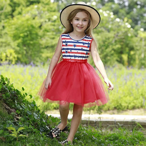 Star Spangled Fabulousness Tulle Dress
