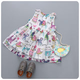 Animal Talk Cartoon Dress