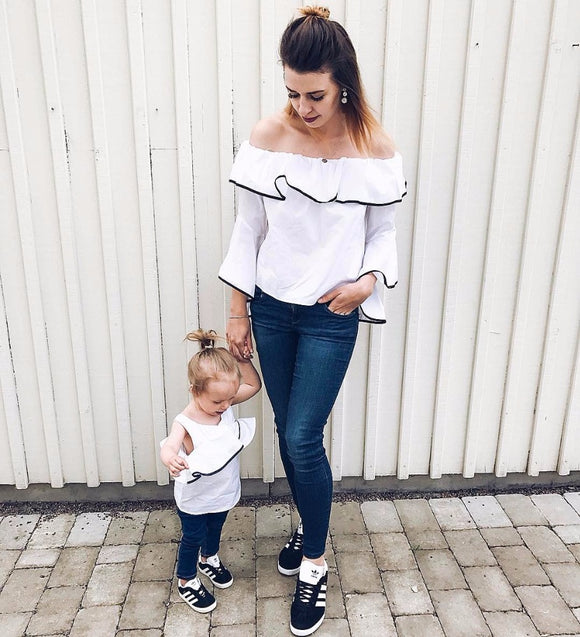 Mommy & Me IMPERFECT Scallop Tops