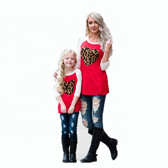 Ladies/ Mommy and Me Leopard Hearts Pre-Order Ends 1/5