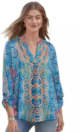 Moroccan Breeze Tunic (Up to 2XL!)