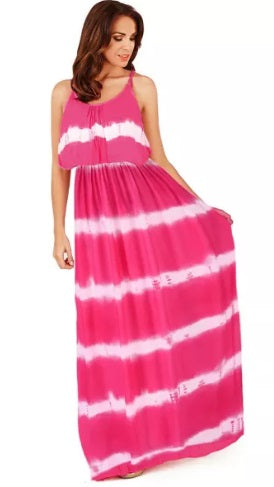 Tie Dye Maxi  (In 2 colors, up to 2XL!)