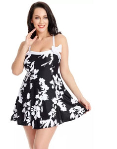 Bow Cute Swim Dresses (Two Styles Available Up to 3XL!)