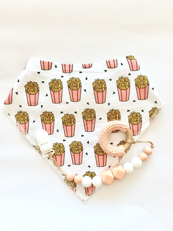 Peach Fries Set