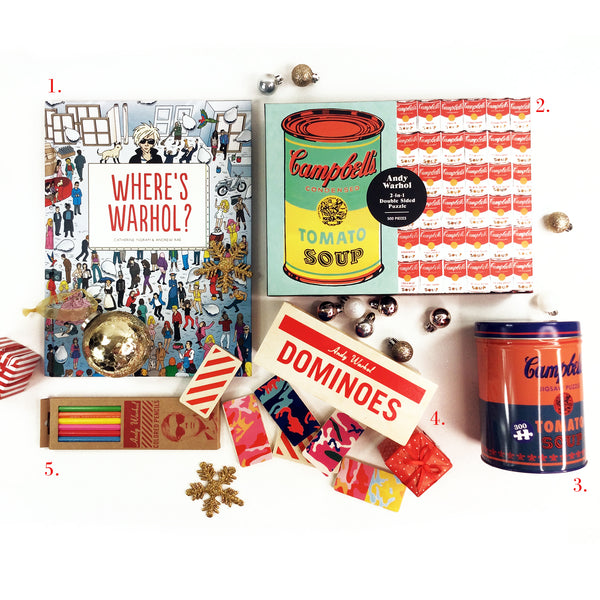 Play Timeout Andy Warhol Christmas Gift Collection