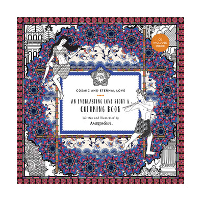 Amrita Sen Cosmic and Eternal Love Coloring Book and CD