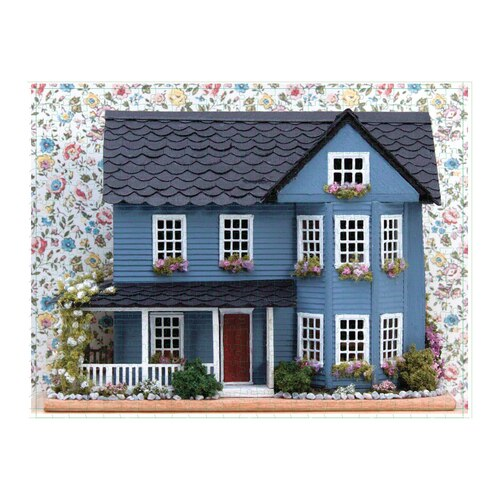 Phat Dog Vintage Dollhouse 2 in 1 Double Sided Jigsaw Puzzle 500 Piece