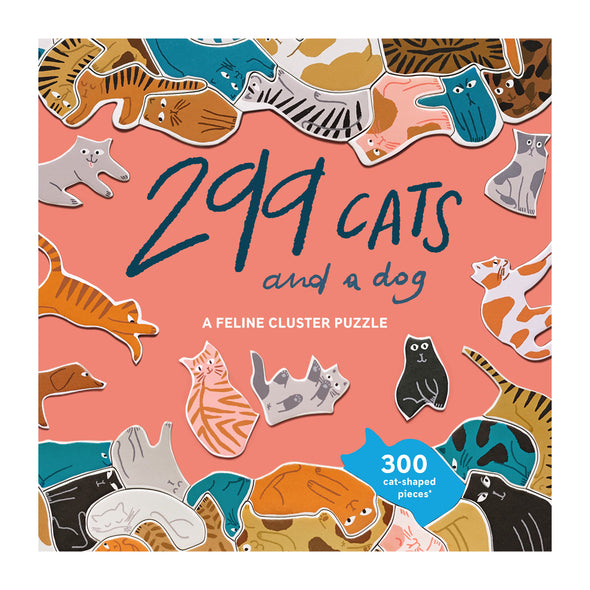 299 Cats (and a dog) A Feline Cluster Puzzle