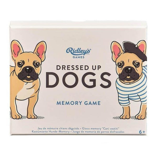 Ridley's Games Dressed Up Dogs Memory Card Game