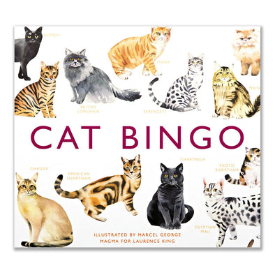 Cat Bingo Magma for Laurence King