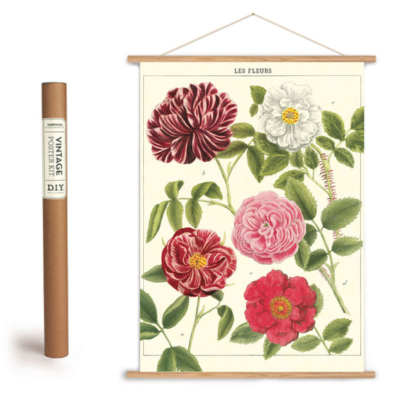 Cavallini & Co. Les Fleurs Poster/Luxe Gift Wrap