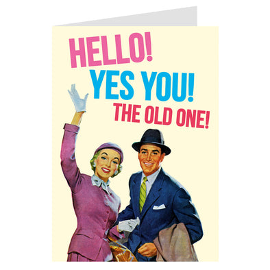 Dean Morris Greeting Card Hello! Yes You!