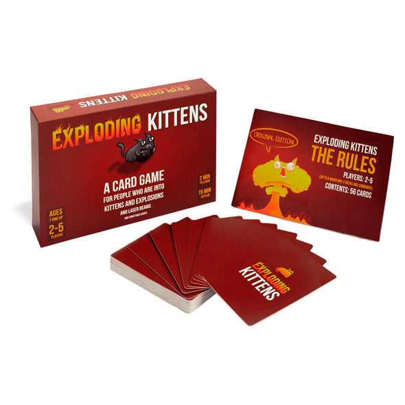 Exploding Kittens Original Edition white background