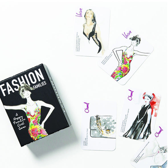 Fashion Families A Happy Families Card Game