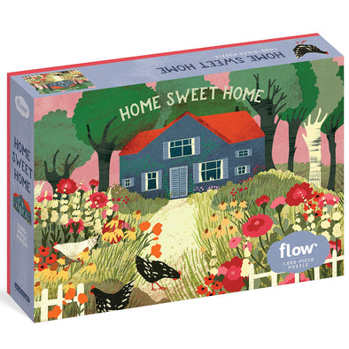 Flow Home Sweet Home 1000 Piece Jigsaw Puzzle