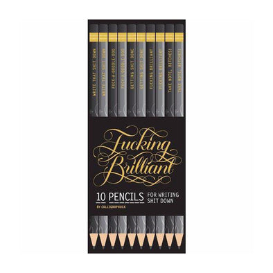 F*cking Brilliant Pencils