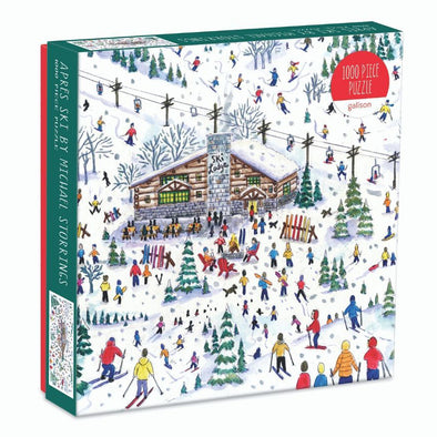 Galison 1000 Pc Michael Storrings Apres Ski Puzzle