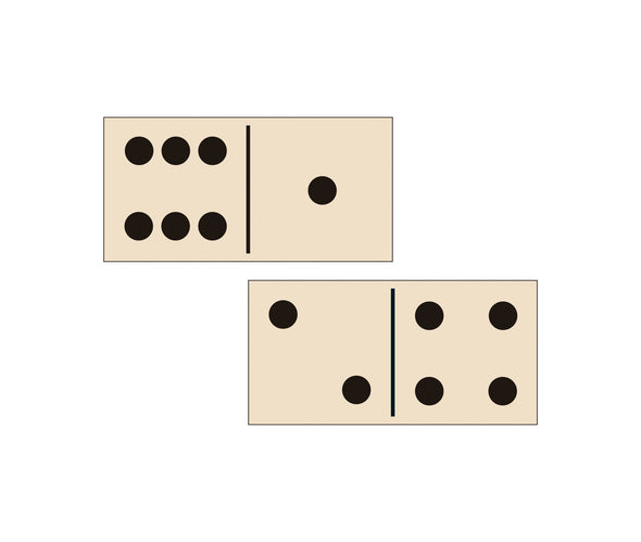 Frank Lloyd Wright Wooden Dominoes by Galison Gifts