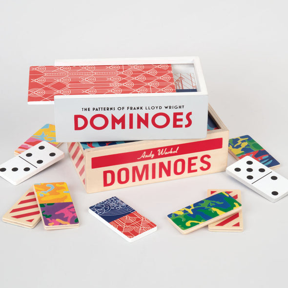 Keith Haring Wooden Dominoes