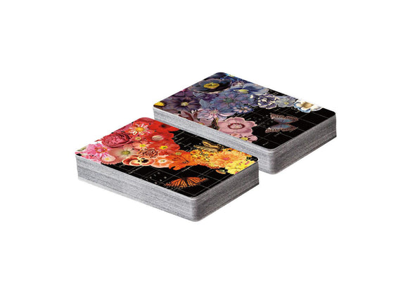 Playing Cards Wendy Gold Full Bloom Double Deck