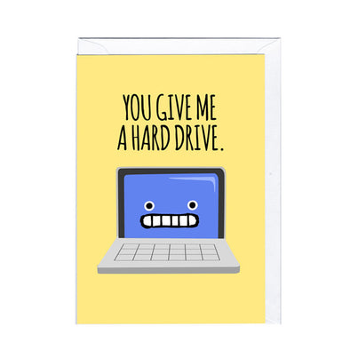 Jolly Awesome Greeting Card Hard Drive