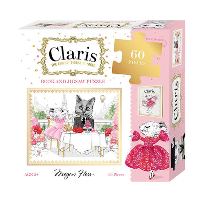 Claris:  The Chicest Mouse in Paris Book and Jigsaw Puzzle Set