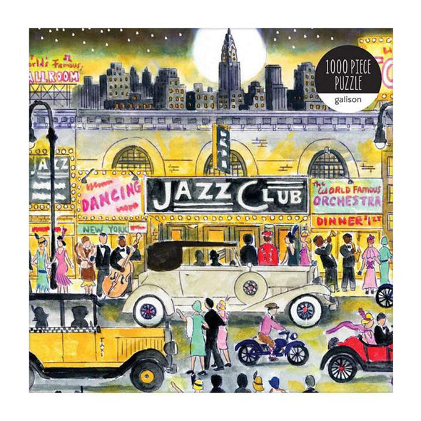 Michael Storring's 20th Cetury Jazz Scene New York 1000 Piece Puzzle
