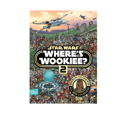 Star Wars Where's the Wookiee? 2 Book
