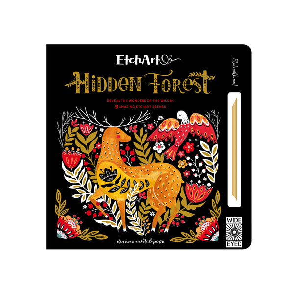 Etchart Hidden Forest Reveal the wonders of the wild book