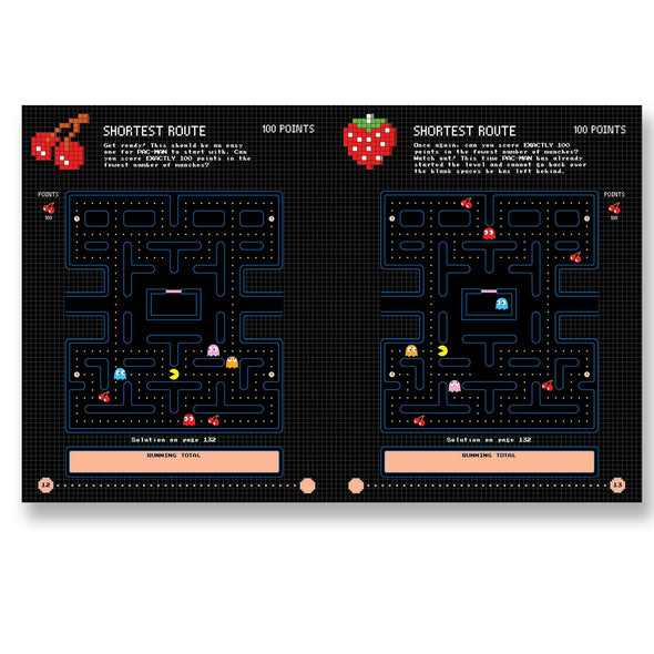 Pac-Man Puzzle Mazes Book