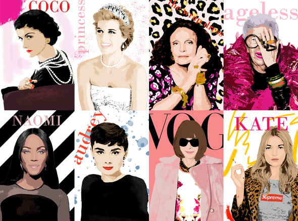 Play Timeout 'Icons of Fashion' 1000 Piece Jigsaw Puzzle