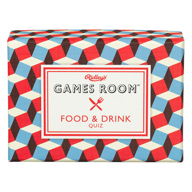 Ridley's Games Room Food & Drink Quiz