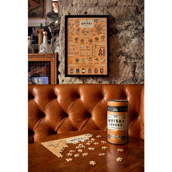 Ridley's 500 Piece 'Whiskey Lovers' Jigsaw Puzzle