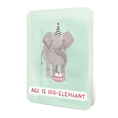 Studio Oh! Greeting Card Age is Irr-elephant