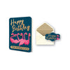 Studio Oh! Greeting Card Flamingo Flock