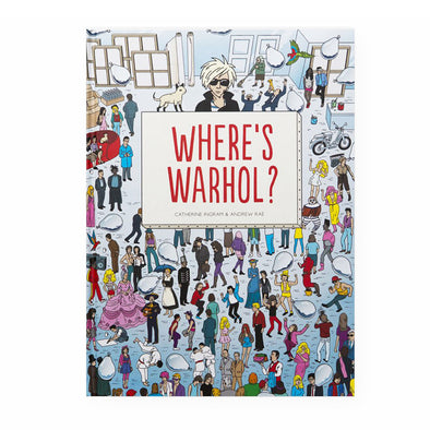 Where's Warhol? Find Andy Warhol Book