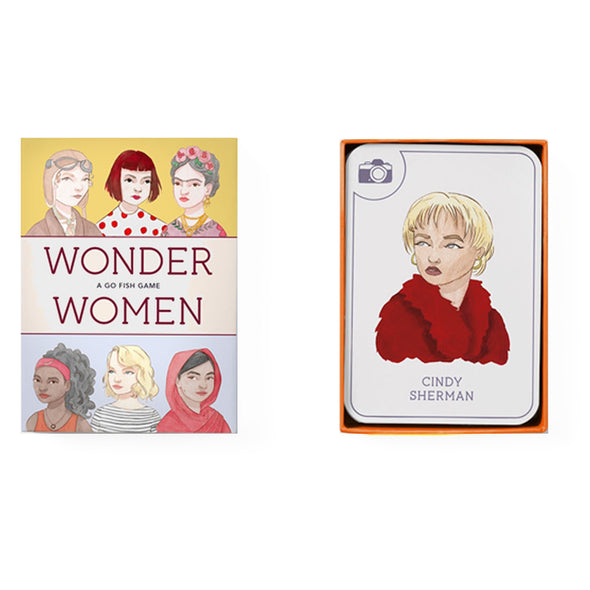 Wonder Women, A Happy Families Card Game