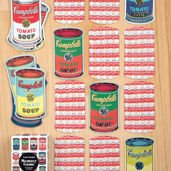 Galison Andy Warhol Memory Game