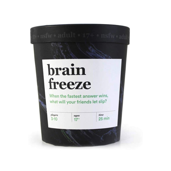 Brain Freeze NSFW Party Game