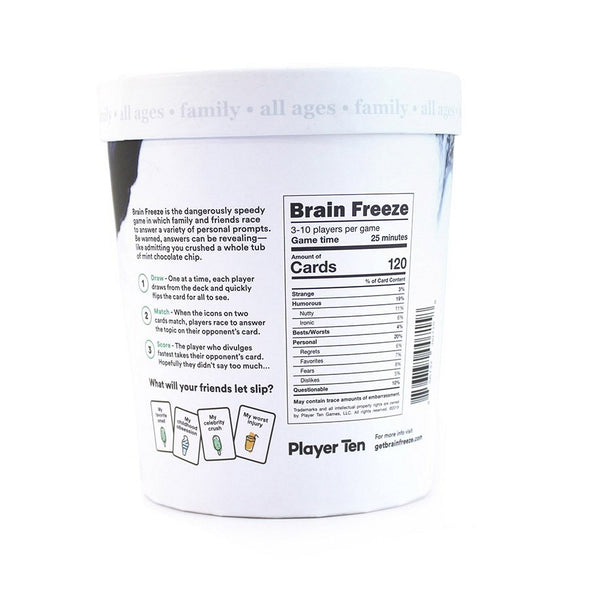 Brain Freeze Party Game