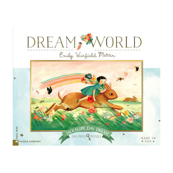 Dream World Jackalope Day Dream 200 Piece Jigsaw Puzzle