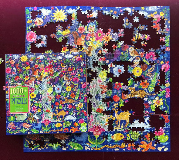 eeBoo Tree of Life 1008 Piece Puzzle